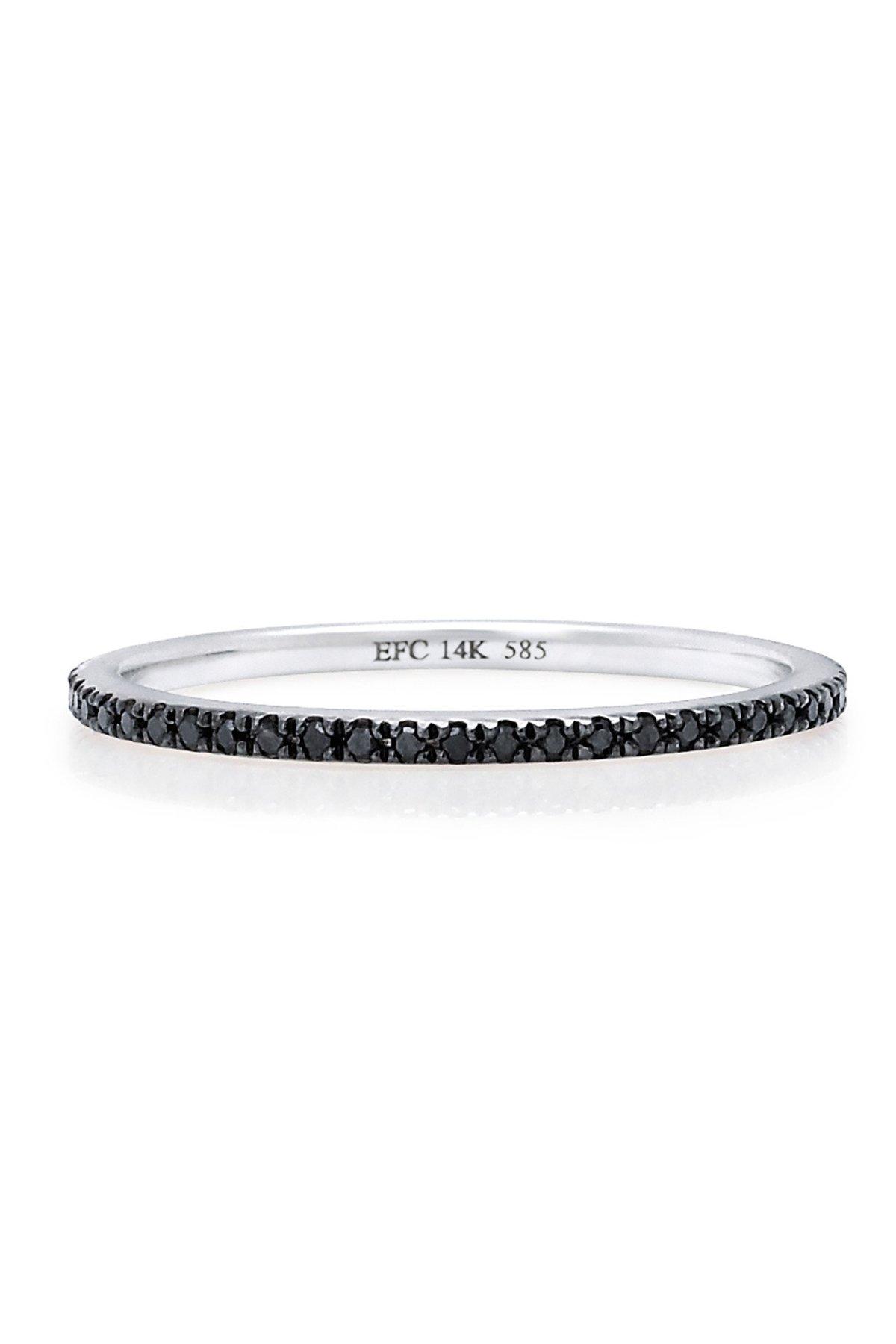 Eternity Band-Black Diamonds