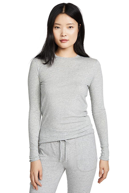 Long Sleeve Tee-Grey