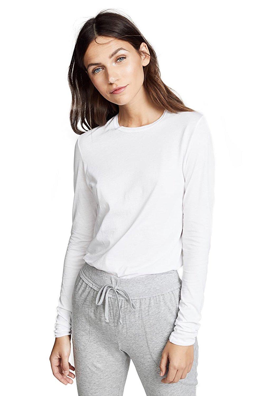 Long Sleeve Tee-White