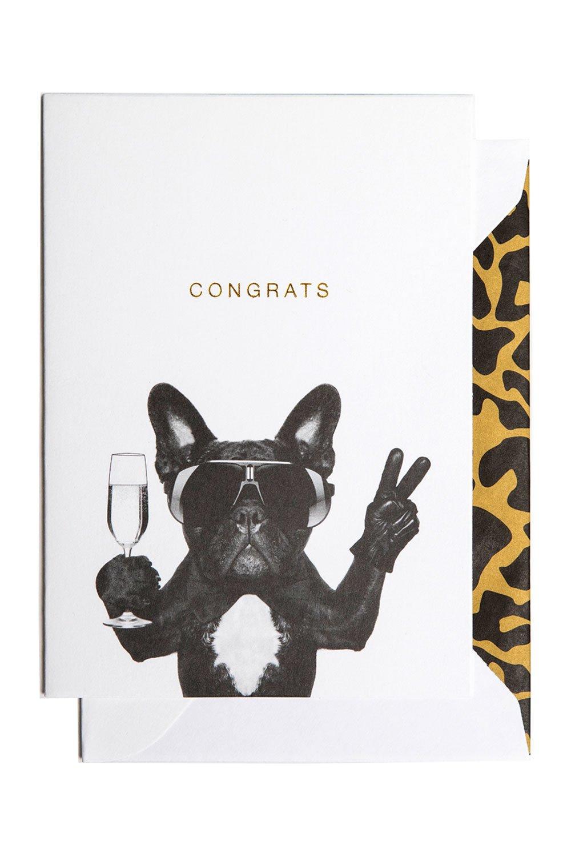 Congrats Dog Card