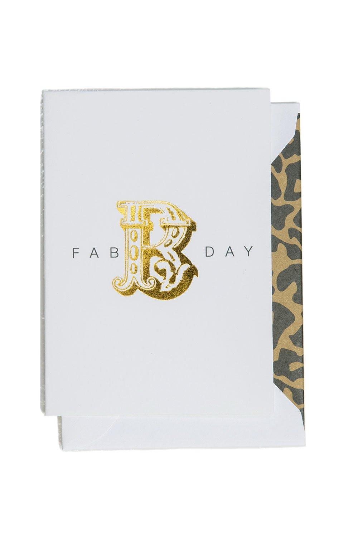 Fab B Day Card