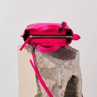 Micro Tote-Neon Pink